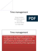 Time Managment Tnd Pres