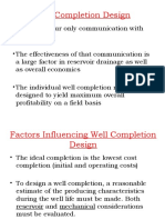 7- Well Completion Design