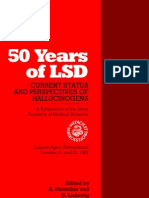 50 Years of LSD - Current Status and Perspectives of Hallucinogens