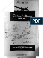 21st Bomber Command Tactical Mission Report 139 and 150