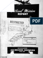 21st Bomber Command Tactical Mission Report 177etc