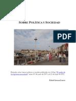 Sobre Politica y Sociedad 2007-2011