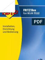 Handbuch Fritzbox Fon Wlan 7112