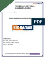 Report on Big Bazar