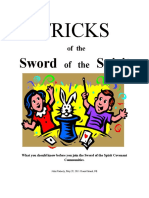 Tricks of the Sword of the Spirit - Chapter One