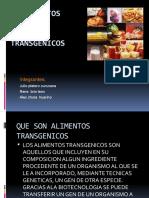 ALIMENTOS TRANSGENICOS 123