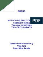 Diseño Perforación y Voladura-Taladros Largos