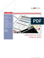 Deal Reporter - Middle East Event Driven Intelligence Update - 12 May 2011
