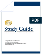 Accredited in PR. Study Guide