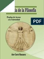 HISTORIA DE LA FILOSOFÍA - SELECTIVIDAD