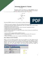 Pspice Schematic Tut1