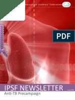 IPSF Newsletter 85 - Anti-TB Pre Campaign