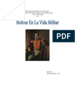Vida YObra De Simón Bolivar