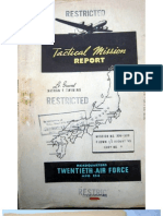 21st Bomber Command Tactical Mission Report 306-309