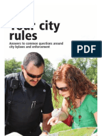 Your City Rules