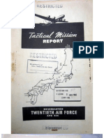 21st Bomber Command Tactical Mission Report 317