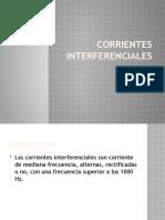 CORRIENTES INTERFERENCIALES
