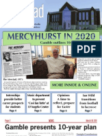 The Merciad, March 16, 2011