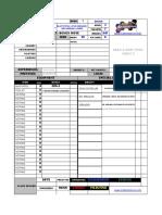 Character Sheet Blank