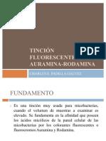 TINCIÓN FLUORESCENTE CON AURAMINA-RODAMINA