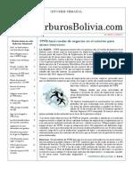 Hidrocarburos Bolivia Informe Semanal Del 23 Al 29 Mayo 2011