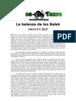 Boll, Heinrich - La Balanza de Los Balek