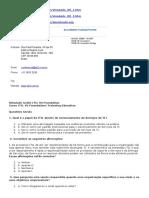 Simulado Grátis ITIL V3 Foundation