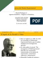 2 - Nociones básicas del Diseño Experimental