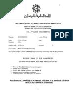 Final Exam - BTE 3620 Sem I 0910