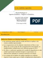 8 - Diseño con Medidas Repetidas en SPSS