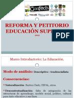 Petitorio CONFECH (Exposición)