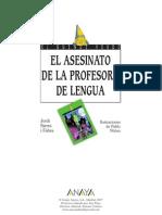 El Asesinato de La Maestra de Lenguas
