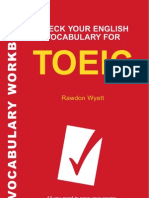 Check Your English Vocabulary for TOEIC