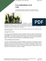La Filosofia Del Eco Mimetismo Arq. Verde