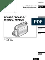 Canon MV920 Manual