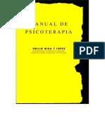 Emilio Mira y López - Manual de Psicoterapia