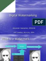 Hasslacher Digital Watermarking