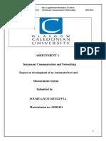 Instrument Communication & Networking