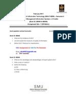 MT0050 smu assignment