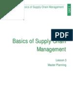 Basics of Supply Chain Managment (Lesson 3)