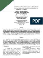 Metodologia de Atualizaçao Cartografica da Região Amazônica