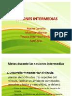 Sesiones intermedias