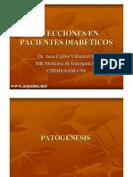 Infecciones en Diabeticos