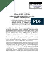 OMBUDSGAY PRESENTA AMICUS CURIAE A FAVOR DE DEFENSOR LGBTI DE COLOMBIA