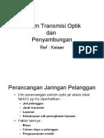 Sistem Transmisi Optik Dan Link Power Budget