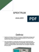 SPEKTRUM Analizer