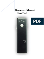 Video Recorder Manual