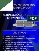 NORMALIZACION DE  EMPRESA