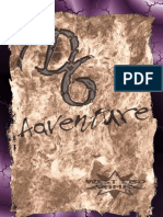 D6 Adventure (With Cover)