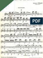 Concierto en Re-Vivaldi Guitarra
